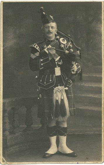 Pipe Major George Urquhart